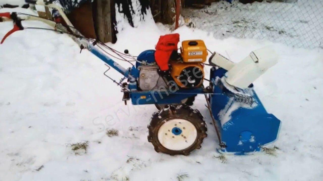 Снегоуборщик для мотоблока (и из мотоблока) своими руками