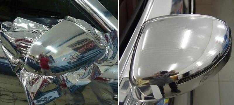 Как восстановить хром на пластике автомобиля? - автоэксперт