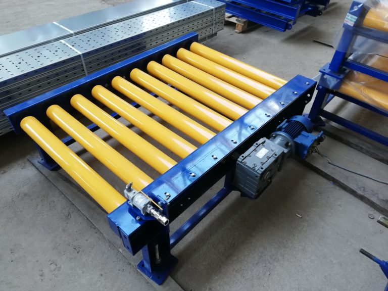 Рольганги - роликовые конвейеры для станков - устройство, приводы