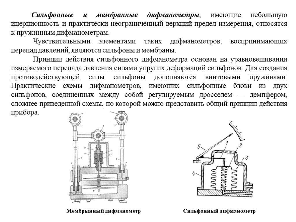 Манометры дифференциальные цифровые дмц-01