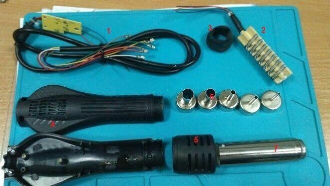 Паяльный фен своими руками: простая схема самодельного термофена для пайки микросхем