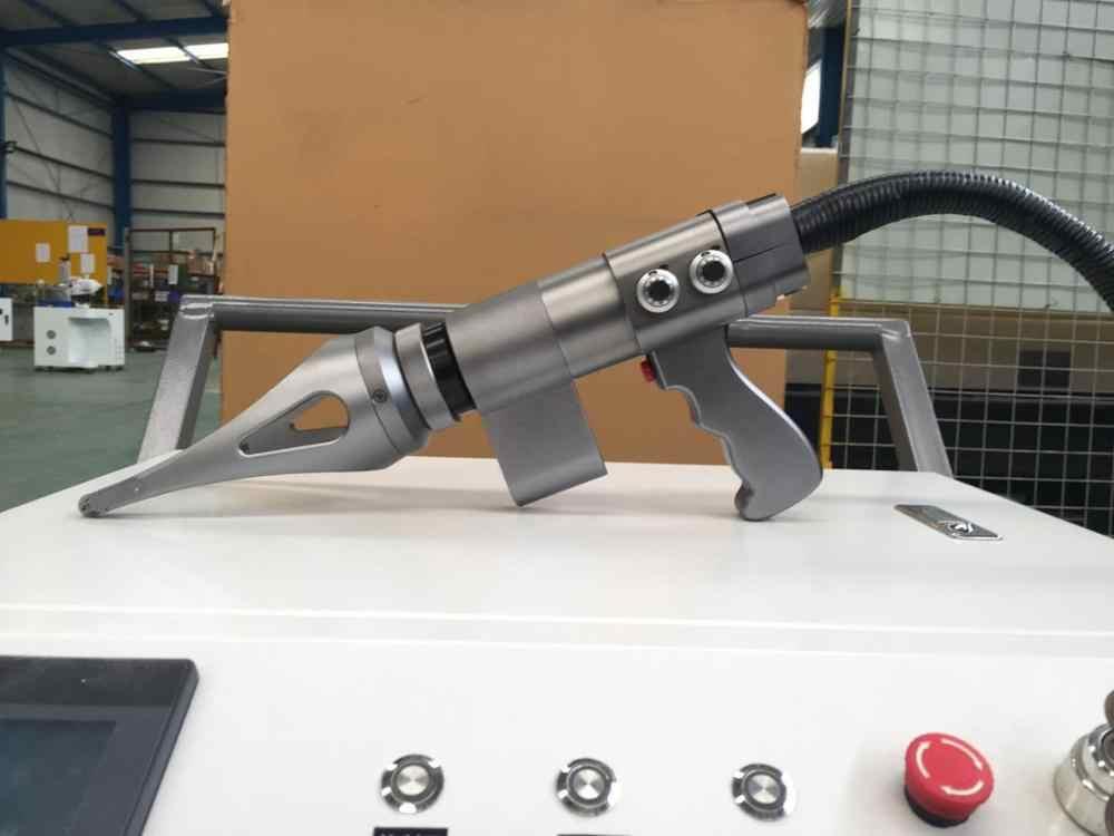 Ручная машина для лазерной очистки 100 вт 200 вт максимальный лазерный источник для удаления ржавчины
