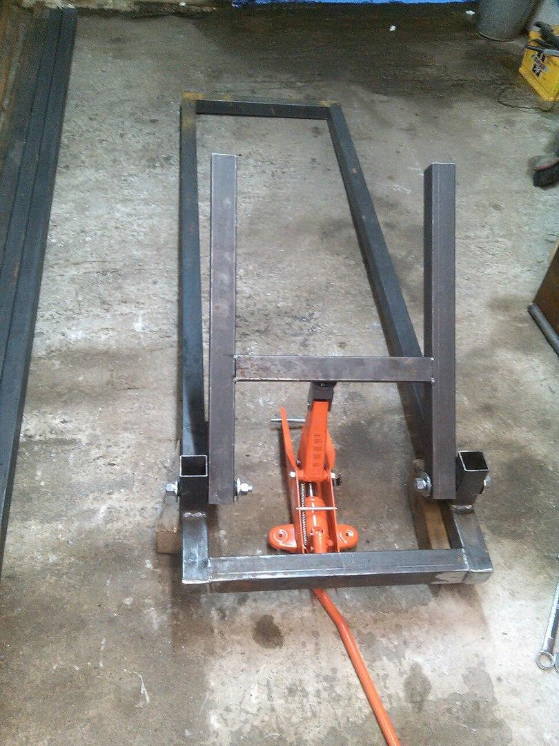Передвижная станина для гаража: порядок сборки, нюансы конструкции