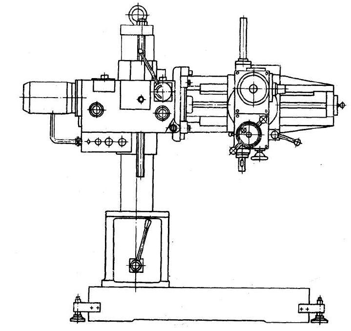 2к52-1 станок радиально-сверлильный переносной