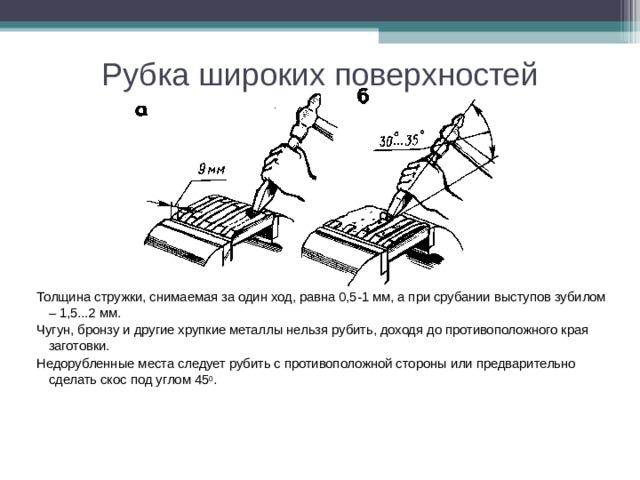 § 4. техника рубки