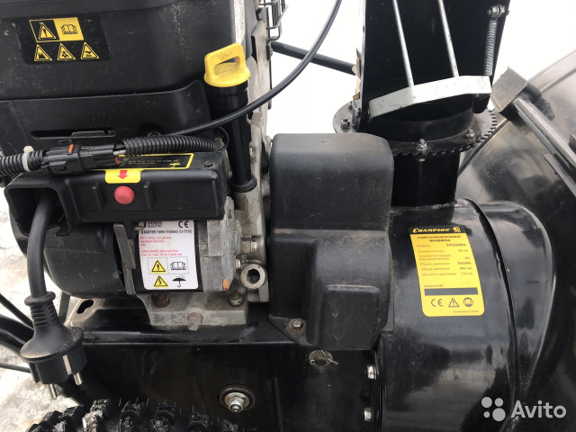 Снегоуборщик самоходный бензиновый чемпион 656: его инструкция, цена и ремонт редуктора