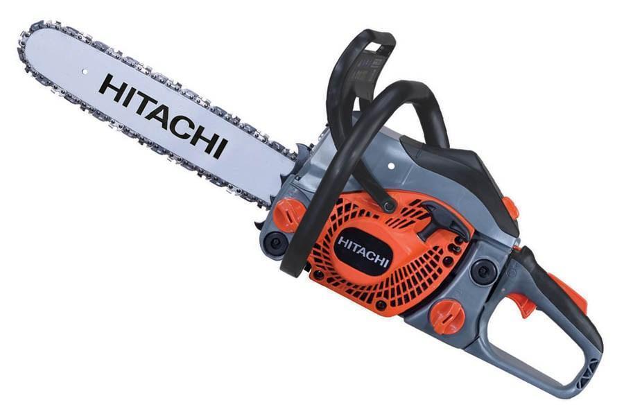 Бензопила hitachi cs33eb - фирменный инструмент в бюджетном ценовом диапазоне