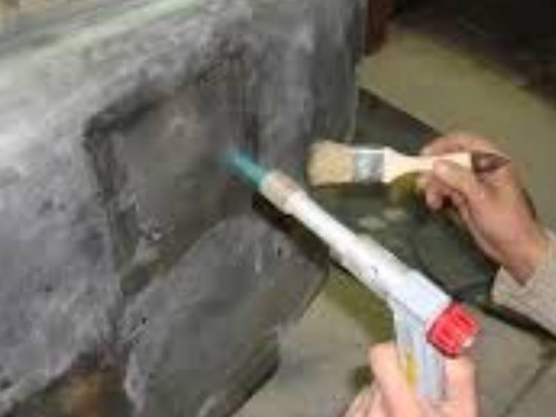 Как убрать окисление с алюминия на двигателе?
