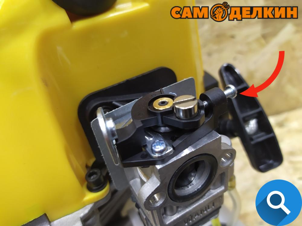 Как почистить карбюратор на триммере