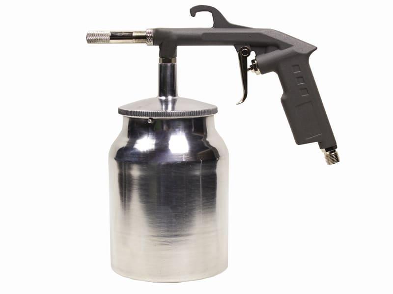 Особенности выбора пескоструйного пистолета для компрессора