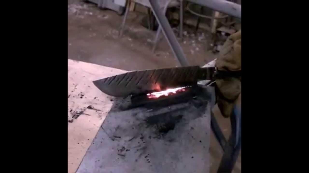 Как закалить нож в домашних условиях: остроте — быть