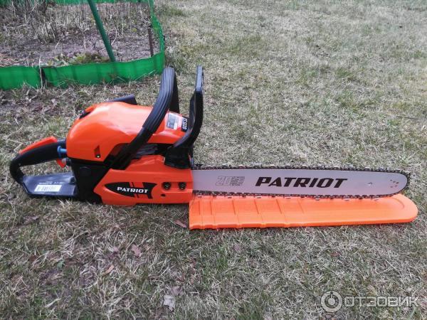 Бензопила patriot pt 6220 — бюджетная модель категории «профи»