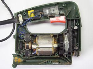 Устройство электролобзика или разбираемся с внутренностями электроинструмента