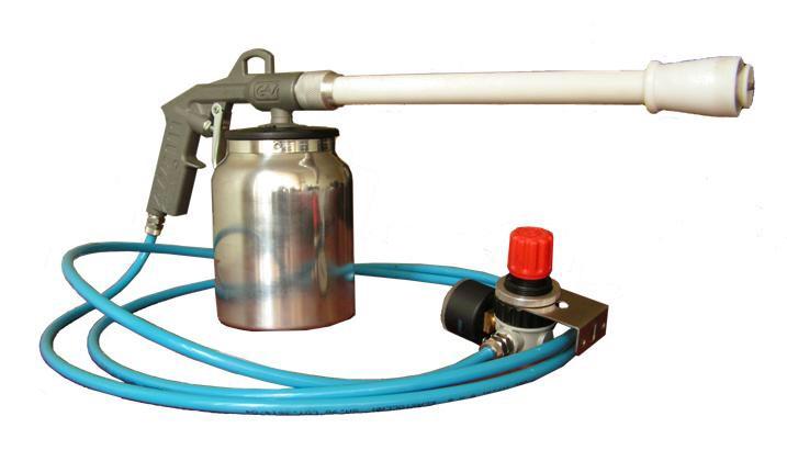 Пневматический краскопульт: выбор распылителя с компрессором