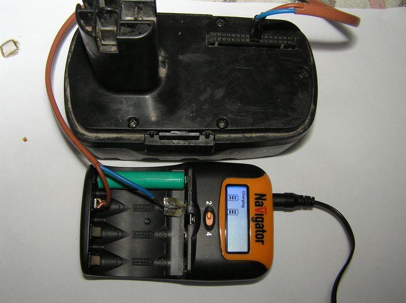 Как проверить и восстановить аккумулятор шуруповёрта