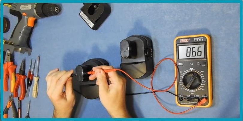 Как можно быстро проверить аккумулятор шуруповерта?