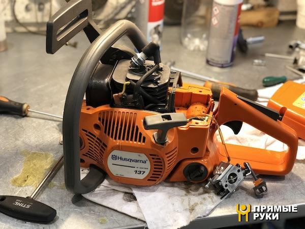 Бензопила husqvarna 236 — характеристики и ремонт своими руками