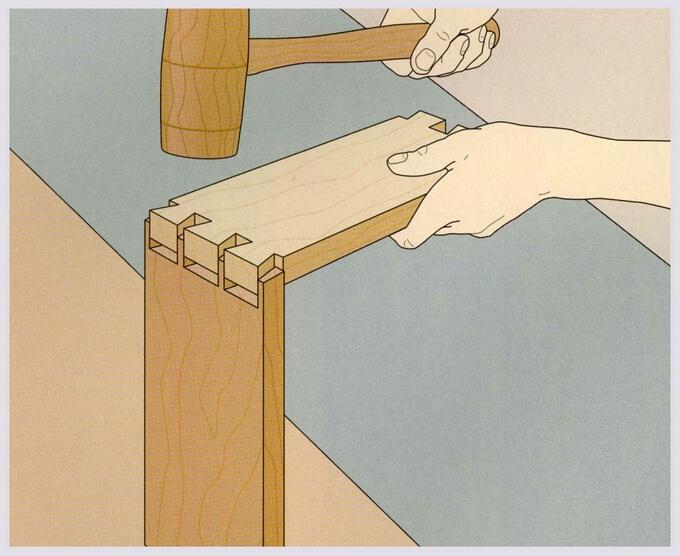 Как сделать ласточкин хвост своими руками - о металле