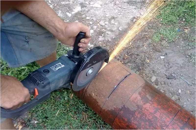 Почему нельзя резать баллон. как разрезать газовый баллон болгаркой