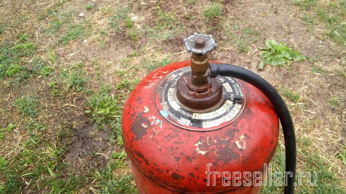 Как разрезать газовый баллон, необходимые инструменты