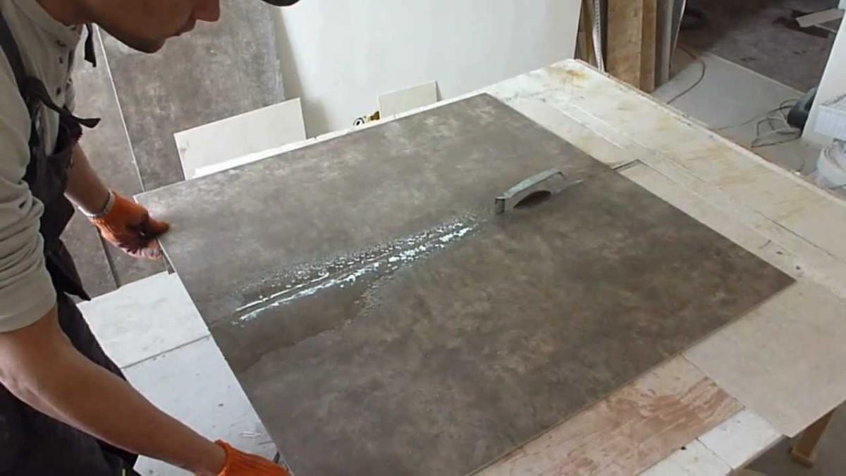 Как резать керамогранитную плитку в домашних условиях: инструкция от мастера