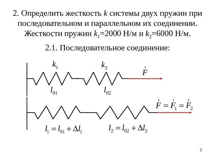 Жесткость ⚠️ пружины: формула, как найти, коэффициент, обозначение