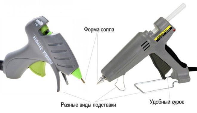 Как пользоваться клеевым пистолетом - обзоры, фото, отзывы