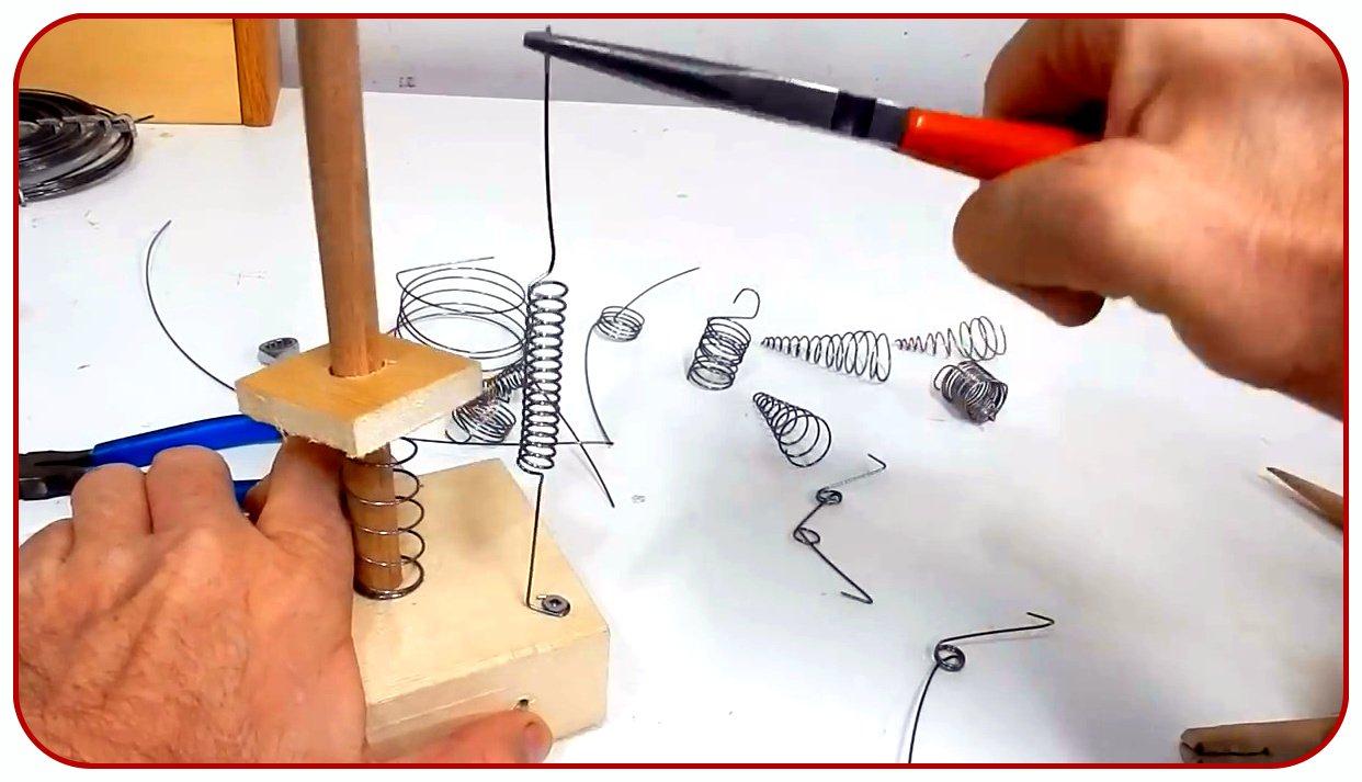 Как сделать пружину своими руками [ноу-хау]