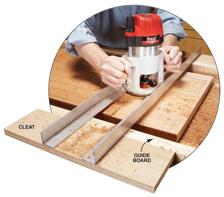 Как сделать своими руками приспособления для фрезера по дереву?