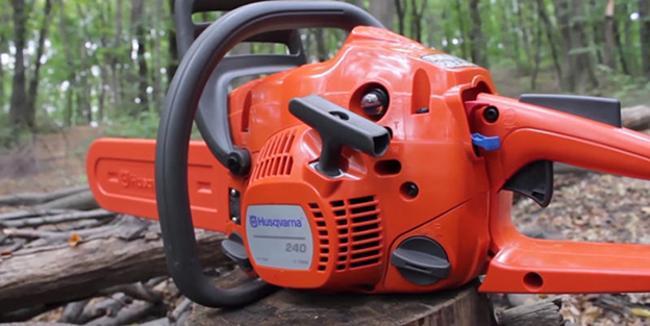 Хускварна 240 — бензопила для работ по хозяйству