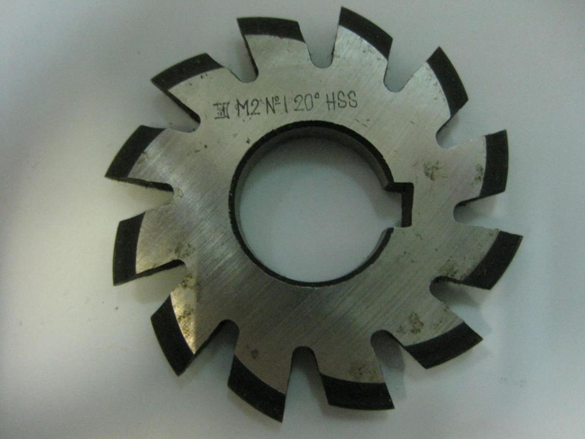 Модульные фрезы для нарезки зубьев зуборезные дисковые по металлу конструкция, гост