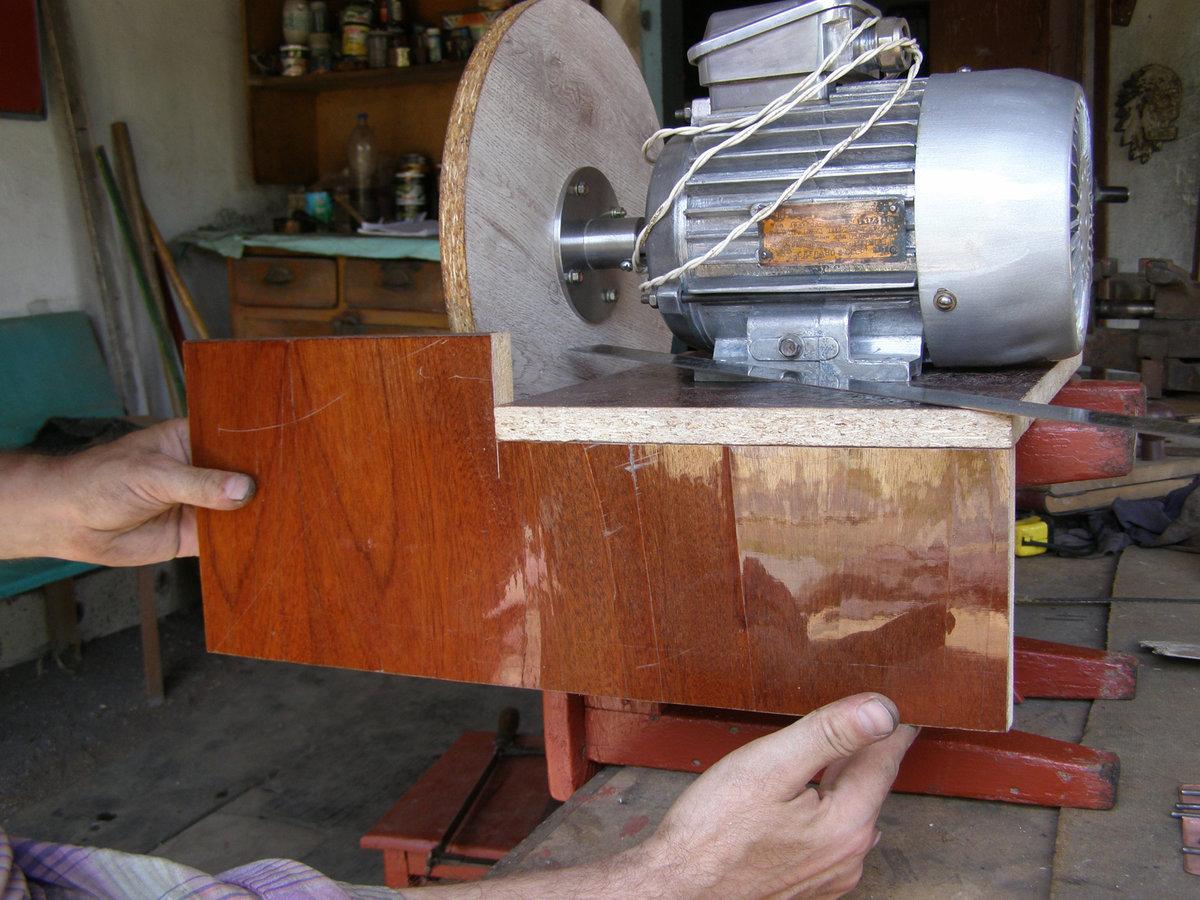 Шлифовальный станок по дереву и металлу своими руками