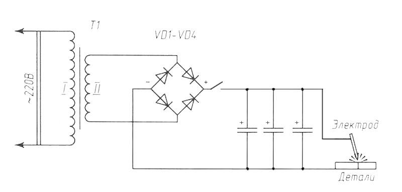 Самодельная конденсаторная сварка - всё про металл и металлообработку