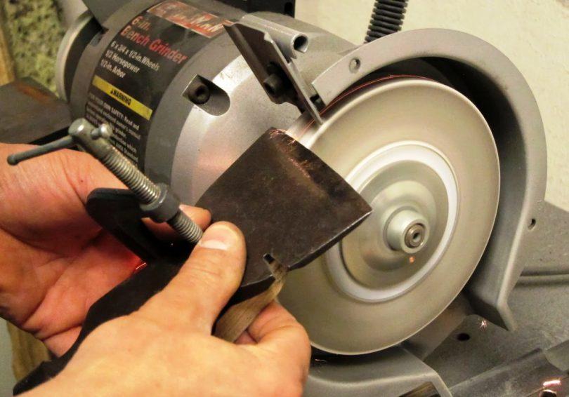 Заточка топора домашнего мастера: как ее выполнить правильно