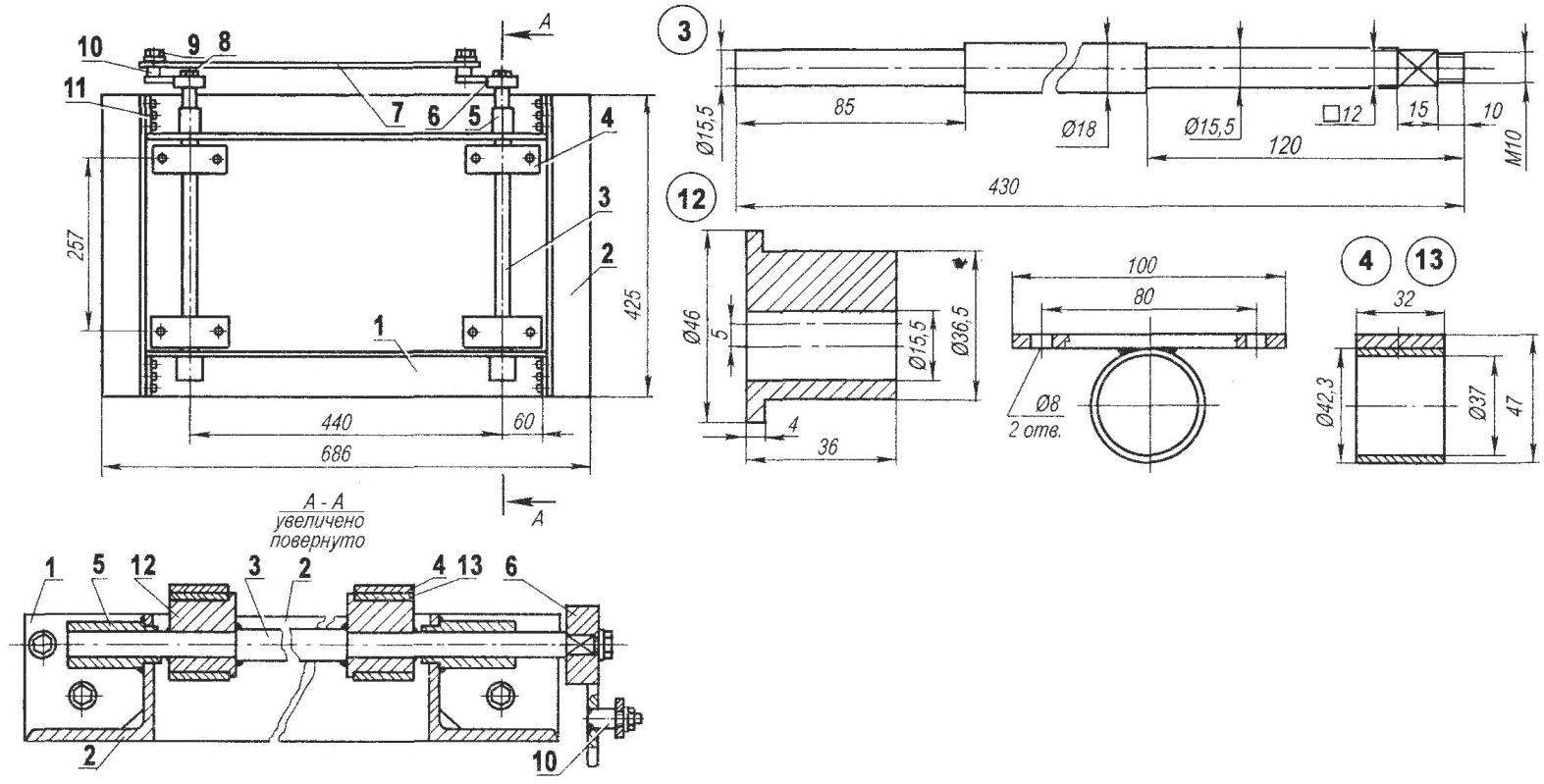 Рейсмусовый станок из электрорубанка своими руками: методика изготовления устройства