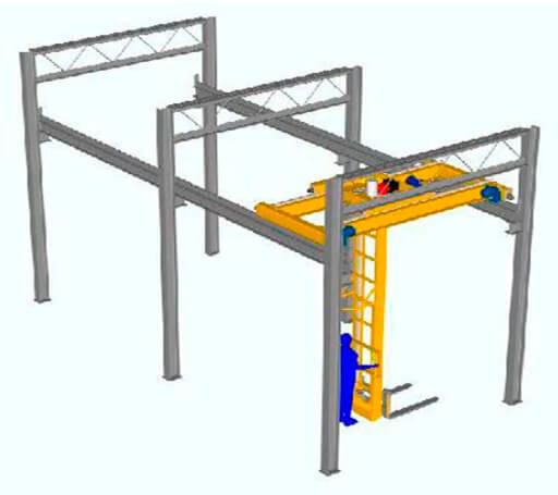 Мостовые краны: назначение, устройство, конструктивные особенности