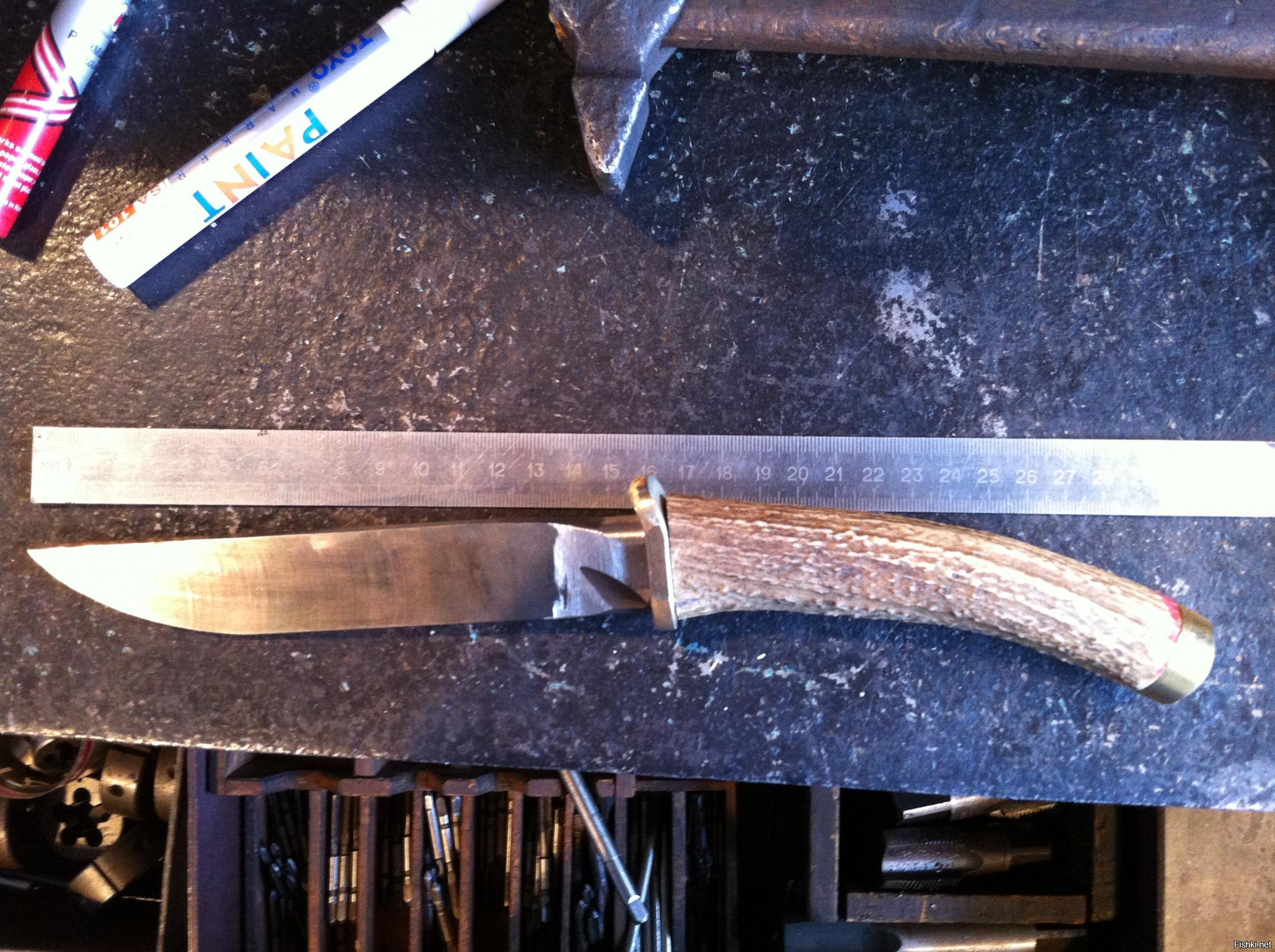 Нож из рессорной стали | описание, фото, видеообзор, цены