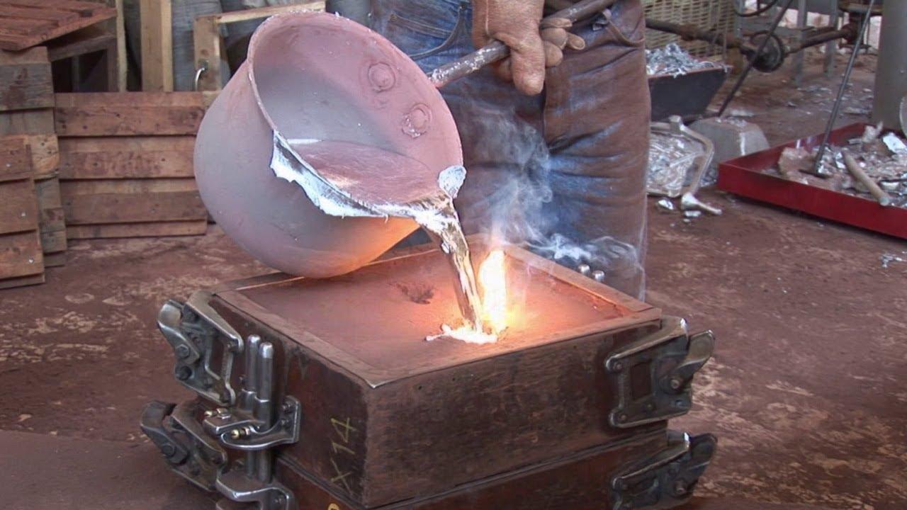 Литье из серебра в домашних условиях - всё про металл и металлообработку