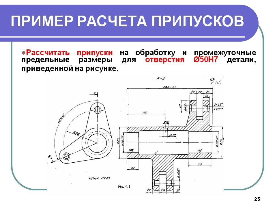 Припуск на механическую обработку