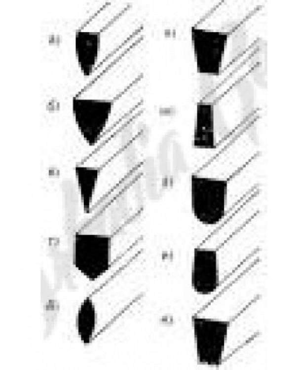 Штихели для ручной гравировки - штихель vallorbe lo-0501 square | купить ювелирное оборудование и инструмент – интернет-магазин сапфир