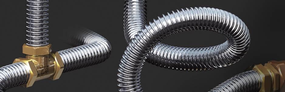 Нержавеющая гофрированная труба для водопровода: выбор, монтаж