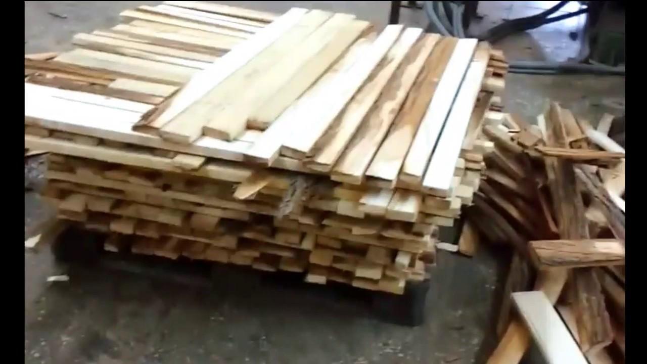 Переработка горбыля: изделия, оборудование и особенности процесса