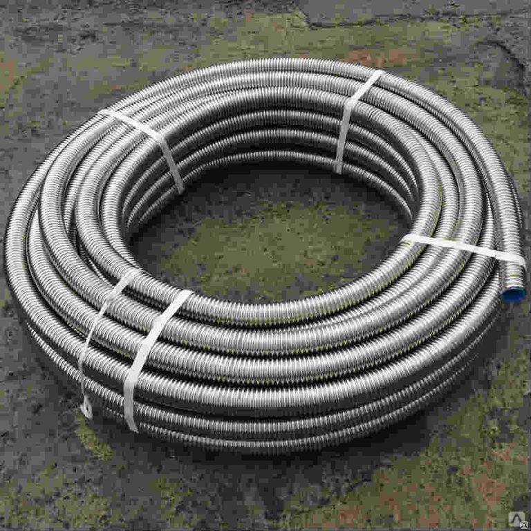 Нержавеющая гофрированная труба для отопления - свойства, достоинства и недостатки, отзывы