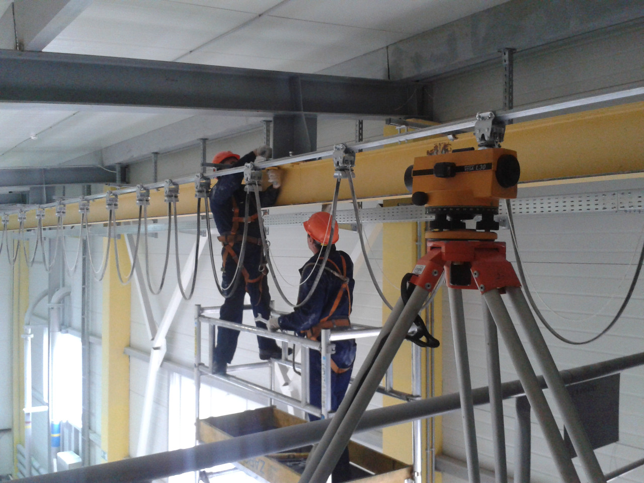 Монтаж кран-балки: технология, подготовка, процесс установки