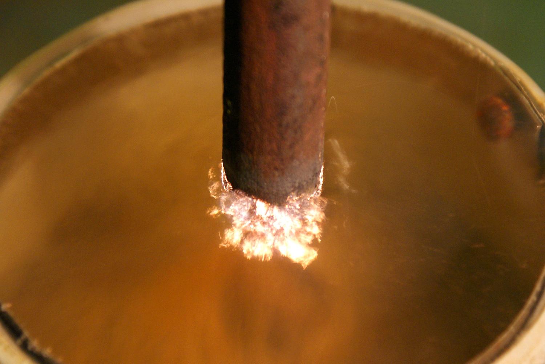 Оксидирование нержавеющей стали
