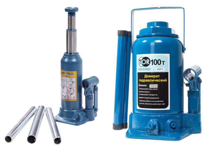 Гидравлические бутылочные домкраты: устройство и тип схемы. рейтинг автомобильных моделей, принцип работы и использование
