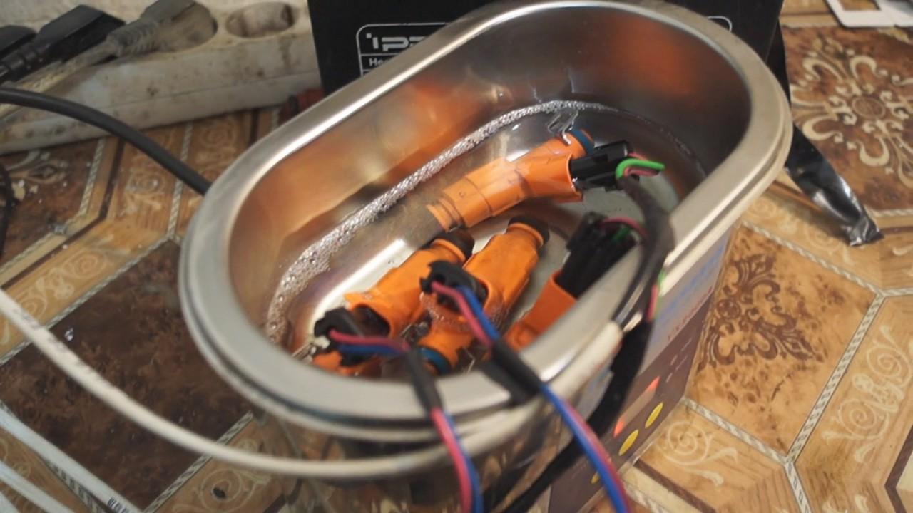 Ультразвуковая ванна для картриджей своими руками
