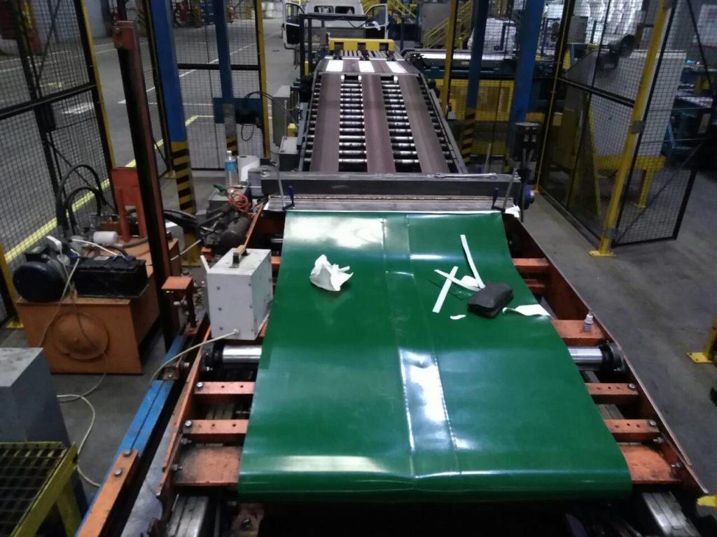 Технология стыковки конвейерной ленты на предприятиях по производству цемента сухим способом