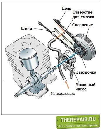 Цепи для бензопил — виды, система смазки, натяжка, видео