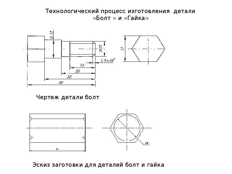 Разработка технологического процесса изготовления типовой детали - вал шлицевой (тм-30), сталь 45